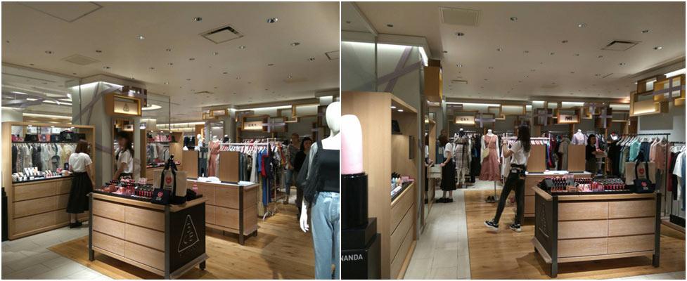 3ce日本店舗 東京新宿伊勢丹2階