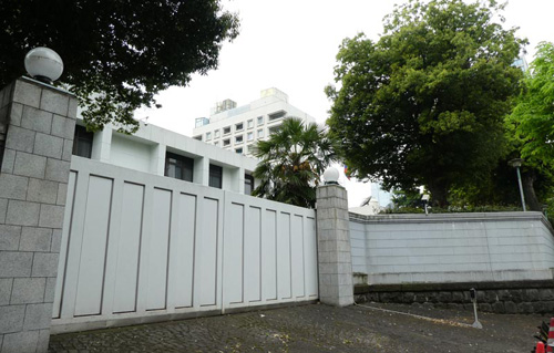 東京ロシア大使館アクセス方法