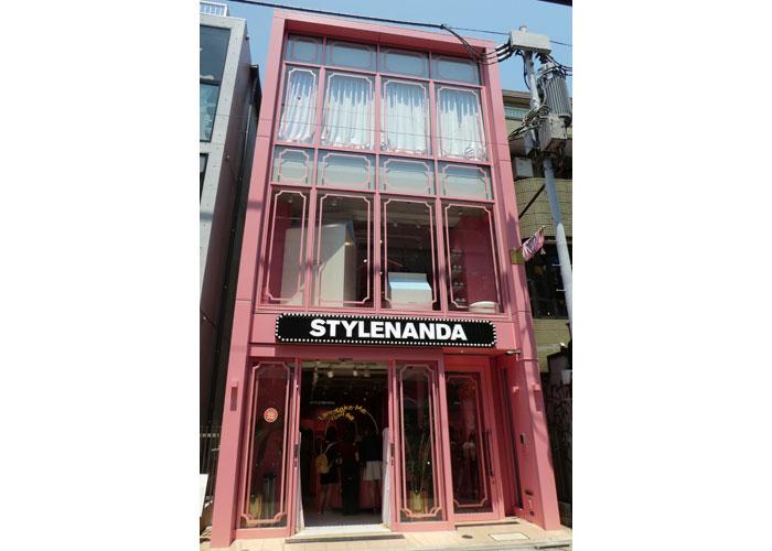 3ce原宿店舗の建物