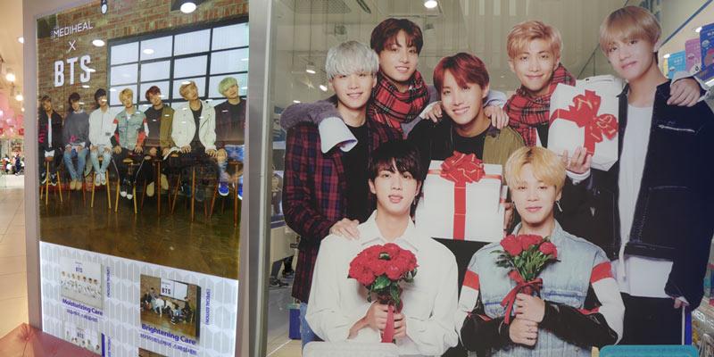 BTSのポスター