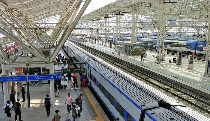 仁川空港から鉄道乗り方