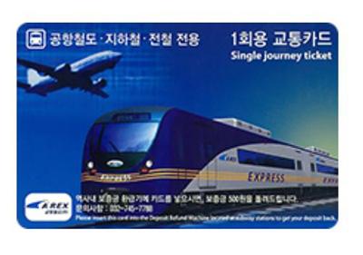 韓国1回用乗車券 交通カード