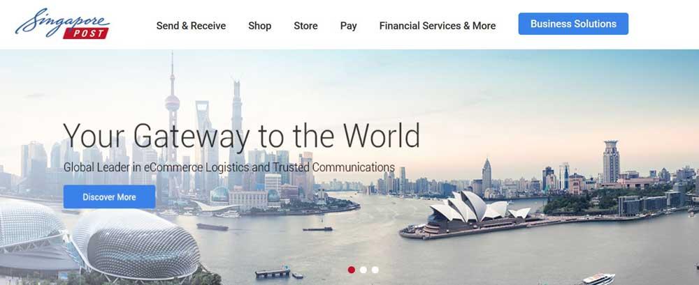 シンガポールポスト サイト