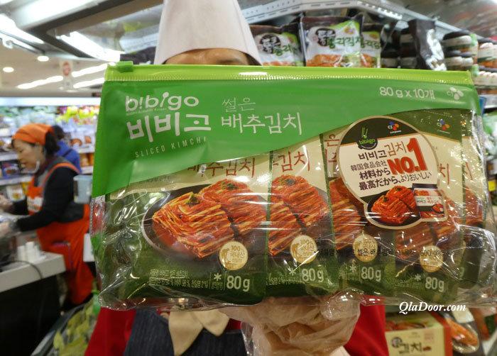 韓国のお土産・キムチの値段