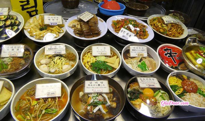 韓国旅行費用・食費の物価