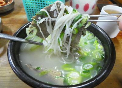 韓国の食事・ソルロンタン