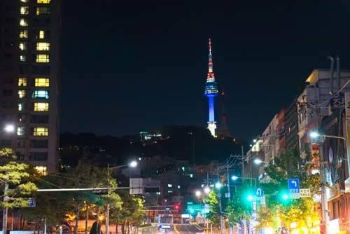 韓国年末旅行スポット Nソウルタワー