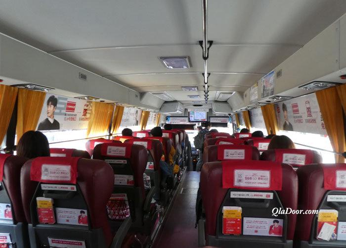 韓国旅行・リムジンバスの費用