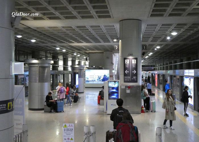 韓国旅行・空港鉄道の費用