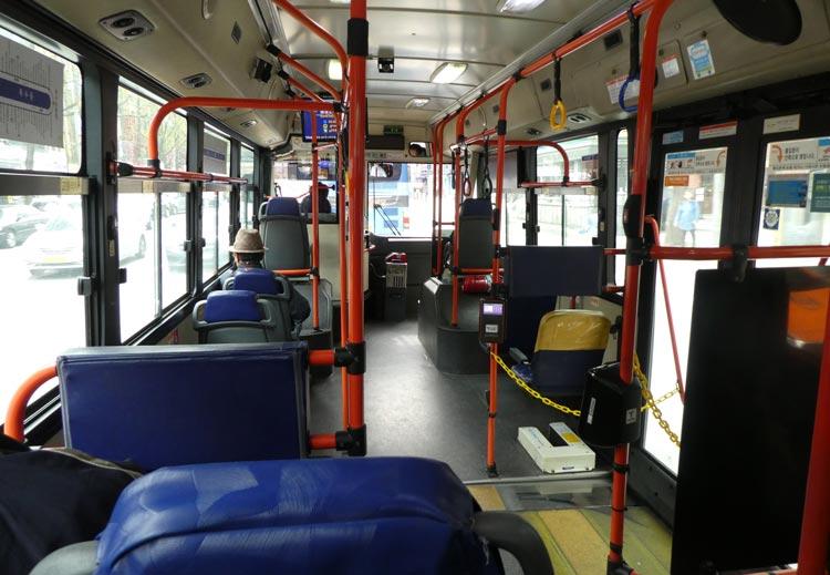 韓国旅行に必要な費用 バス料金
