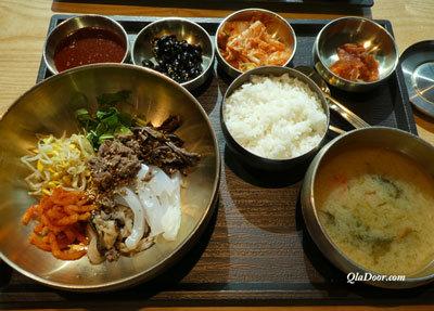 韓国の食事・ビビンバ