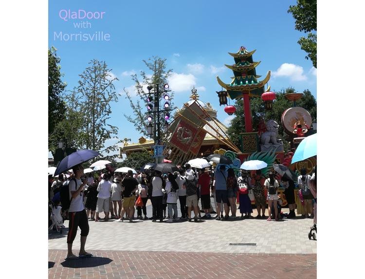 上海ディズニーランドの混雑状況と予想