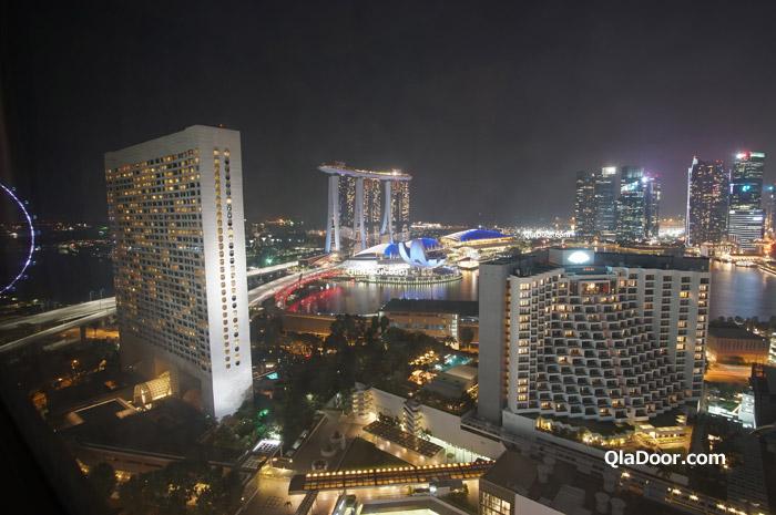 マリーナ地区の場所にあるシンガポールホテル