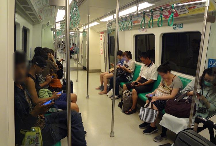 台湾の電車 最寄り駅