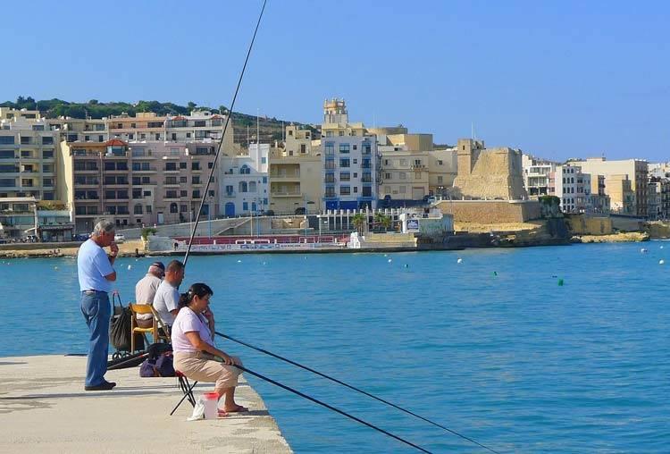 冬でも暖かいマルタ島