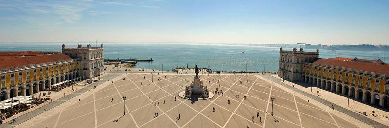 ポルトガル リスボンのコメルシオ広場