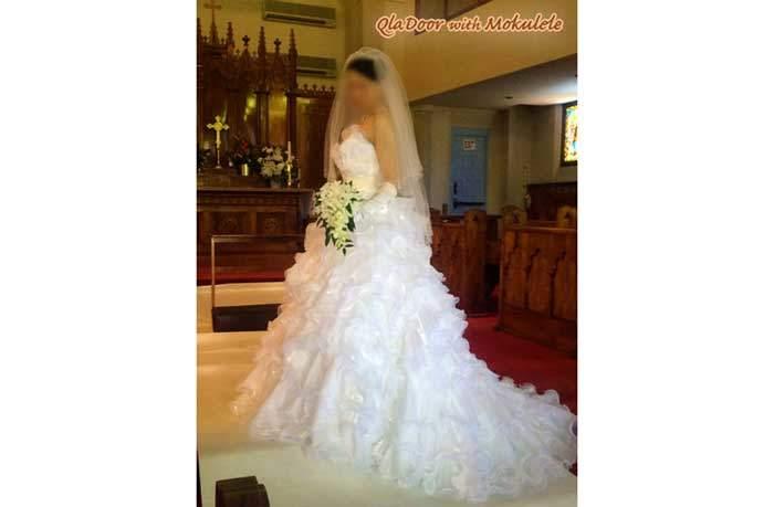 ハワイ挙式 ウェディングドレス