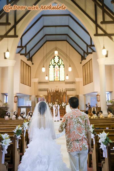 ハワイでの挙式 教会