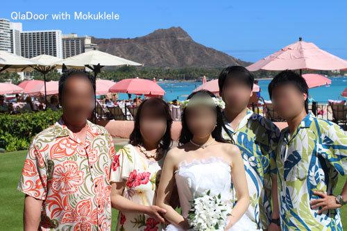 ハワイ挙式での家族の服装