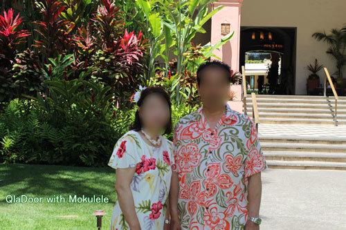 ハワイ挙式での両親の服装