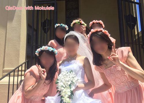 ハワイでの結婚式女性参列者の服装