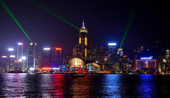年末年始旅行 香港