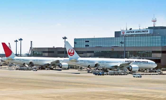 日本大手航空会社 jal