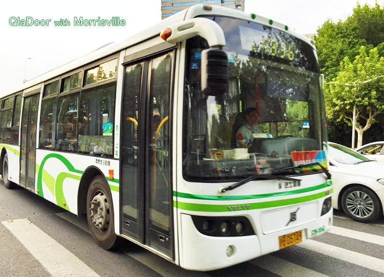 上海空港から市内移動のバス