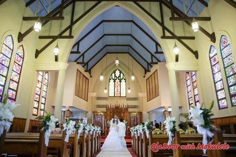 ハワイ結婚式 セント・ピータース・エピスコパル教会