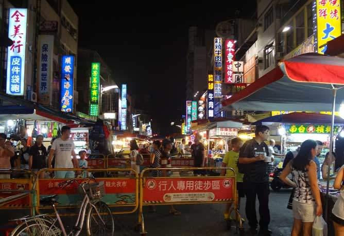 台湾 高雄にある六合夜市