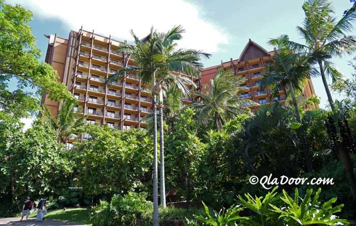 ハワイ・アウラニディズニーリゾートの外観写真