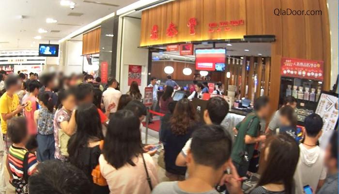 ディンタイフォン(鼎泰豊)台湾の混雑状況