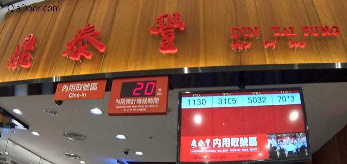 ディンタイフォン(鼎泰豊)で必要な予算