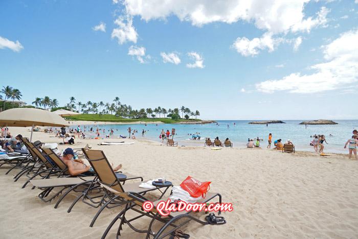 ハワイ・アウラニディズニーリゾートのコオリナ・ビーチ