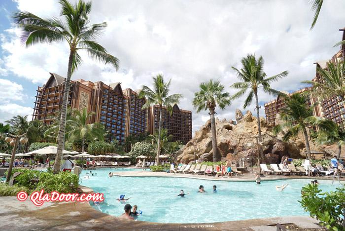 ハワイ・アウラニディズニーリゾート&スパのプール