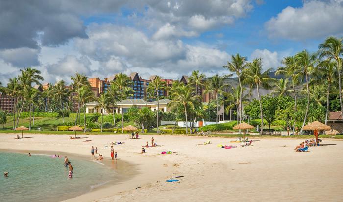 ハワイのコオリナビーチ