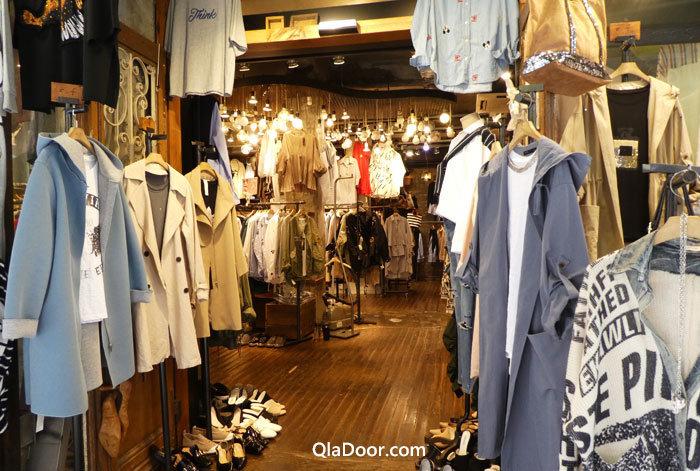 韓国ファッションショップ
