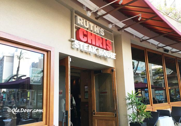 ルースズクリス・ステーキハウスのハワイ・ホノルル店