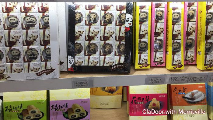 上海空港のお土産・パンダチョコレート