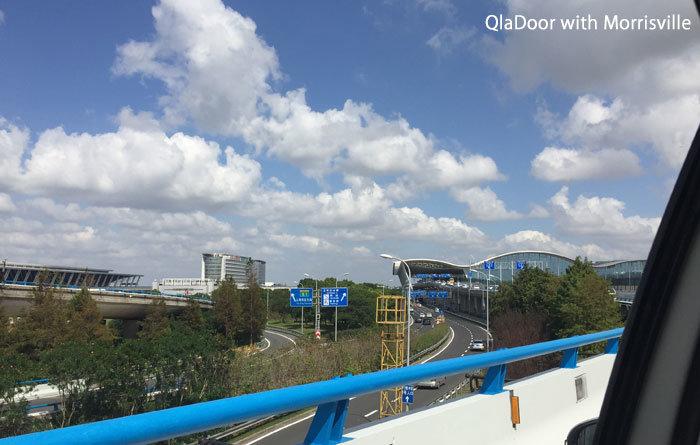 上海空港浦東国際空港の外観