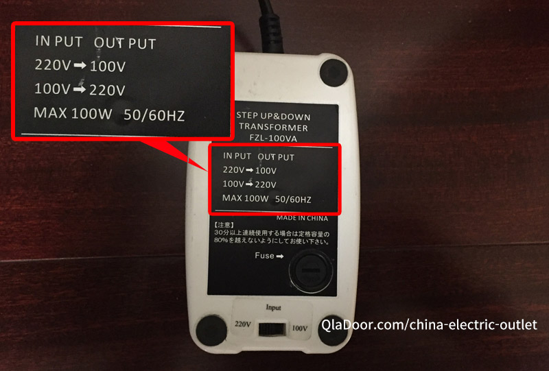 中国の小型変圧器