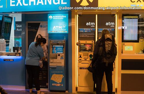 タイ空港のATMを利用した両替