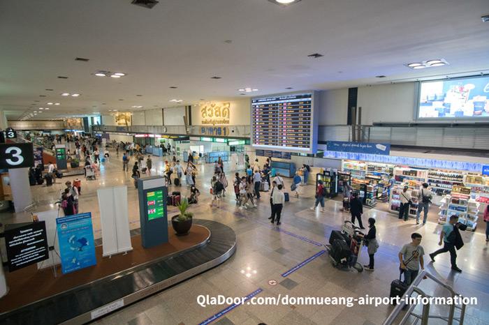 タイバンコクのドンムアン空港