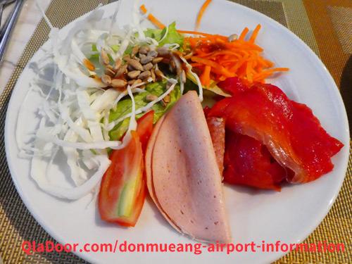 ドンムアン空港・アマリホテルの朝食