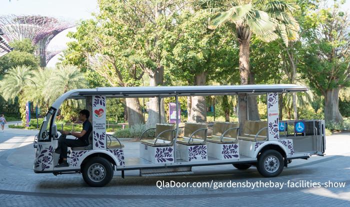 ガーデンズバイザベイのシャトルバス