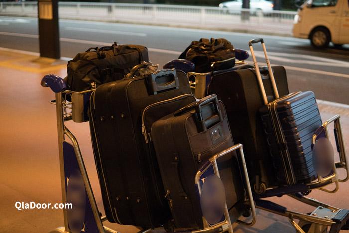 成田空港で持ったスーツケース