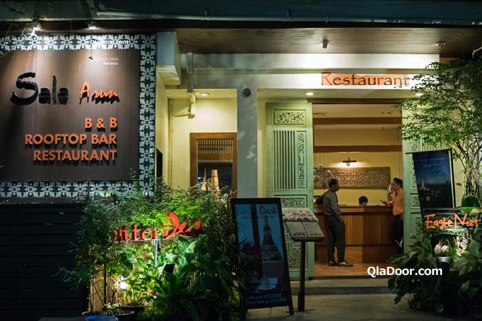 ワットアルンの夜景のレストラン・Eagle Nest