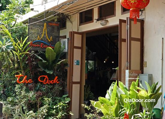 ワットアルン周辺ののレストラン・The Deck