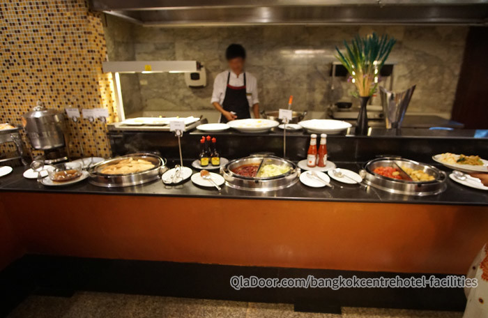 バンコクセンターホテルの朝食ブッフェ