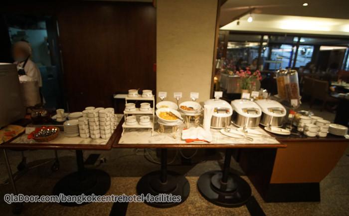 バンコクセンターホテルの朝食レストラン